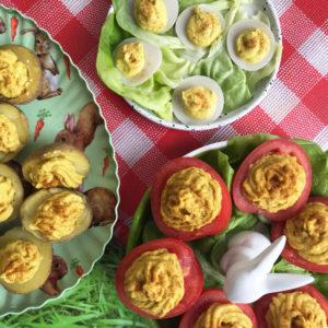 3 Vegan alternatieven voor gevulde eieren