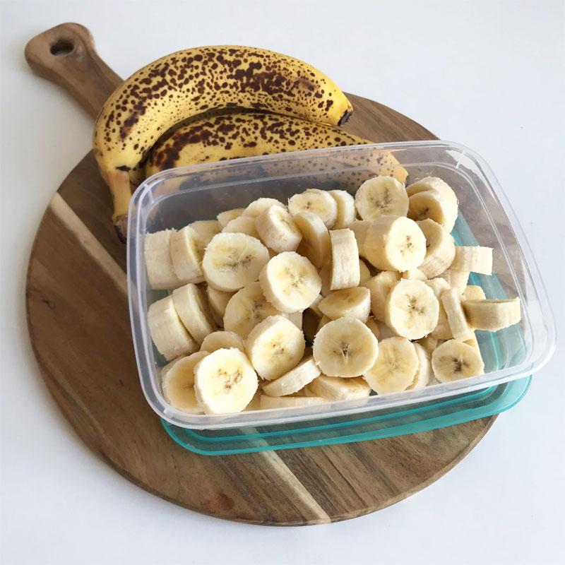 bevroren banaan recepten