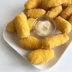 Aardappelkroketjes (vegan en glutenvrij!)
