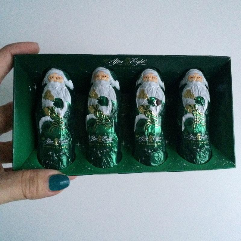 Ho ho ho! Deze chocolade kerstmannen zijn vegan! <3