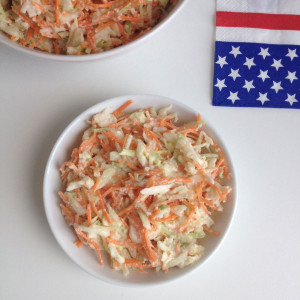 Amerikaanse coleslaw (koolsalade)