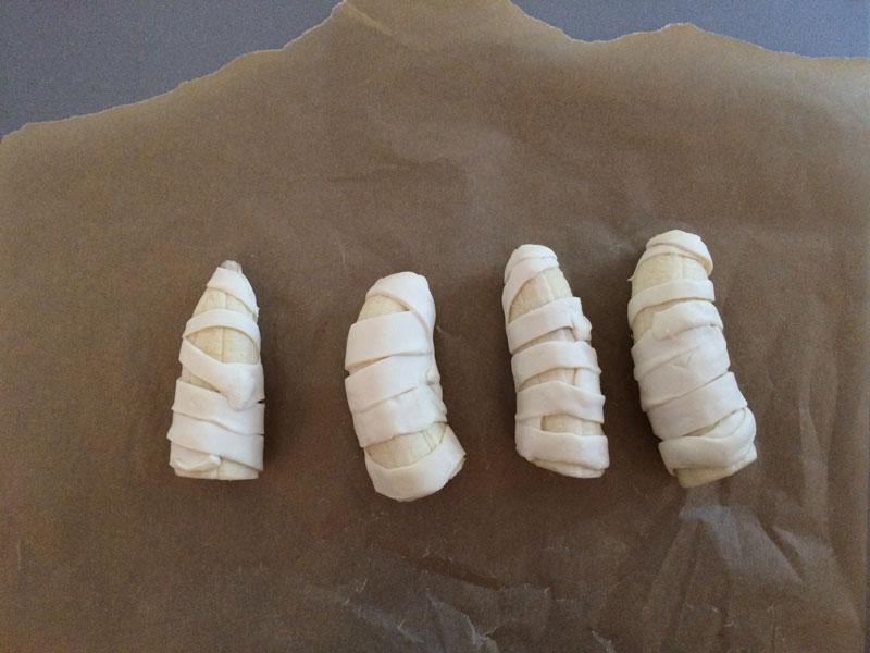Bananen mummies