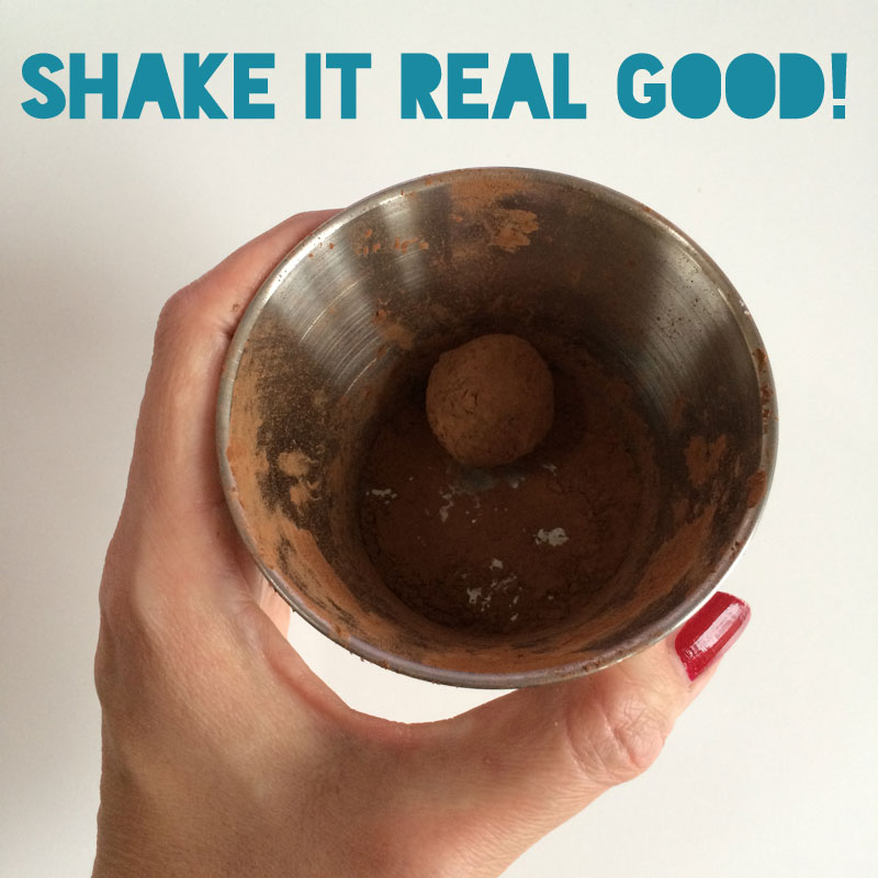 Shake it real good!