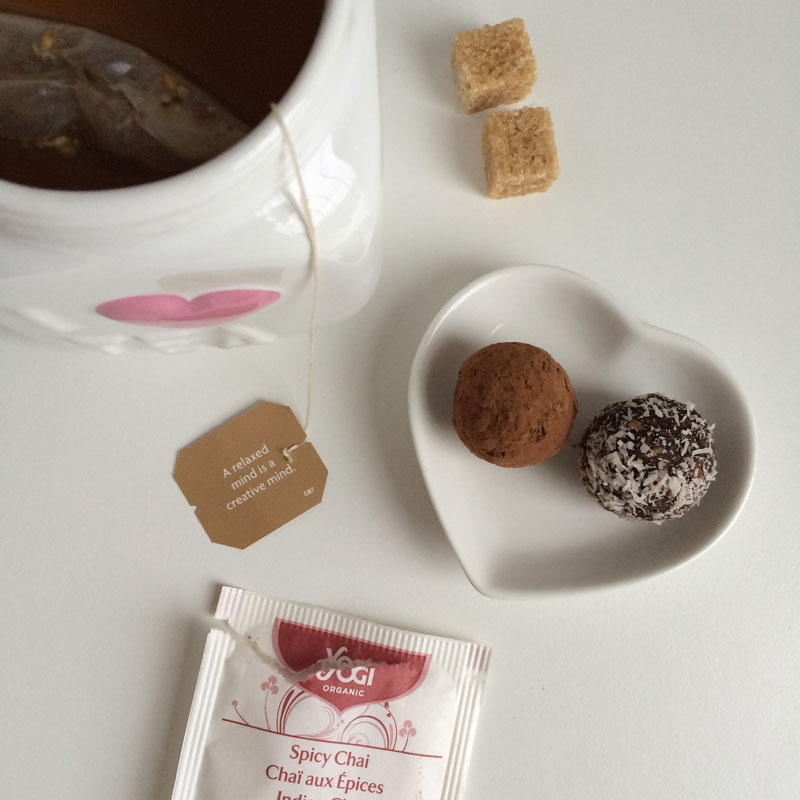 Lekker met een kop thee