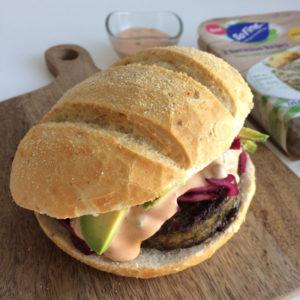 Broodje boerenkoolburger
