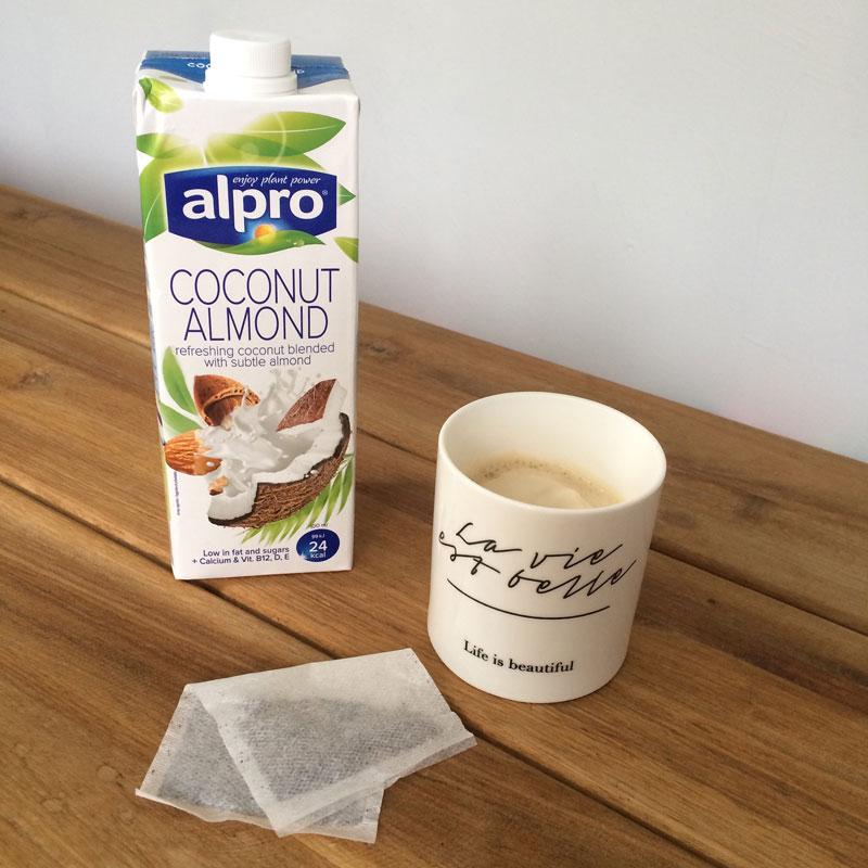 Chai coco almond latte