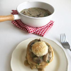 Vegan feestdagen #6: vegan champignon ragout