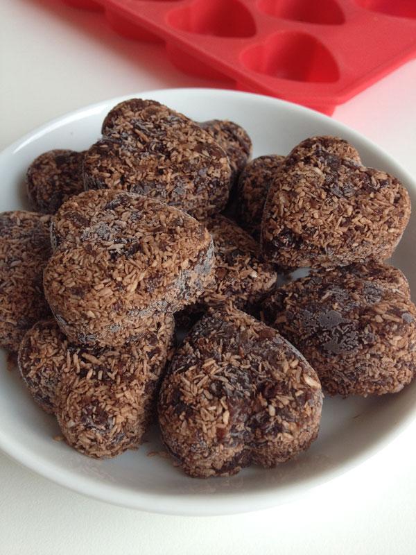 Choco coco bonbons