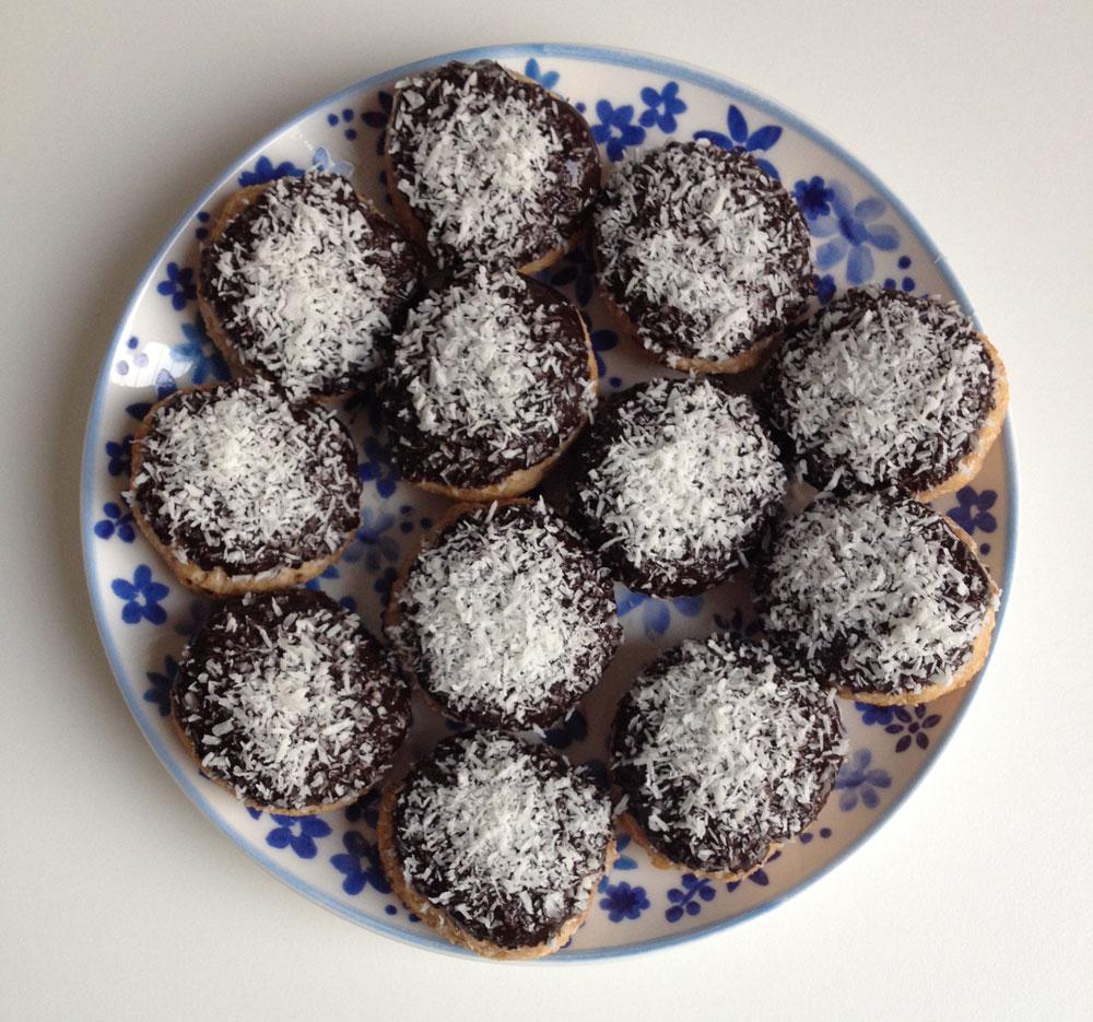Choco kokos bites