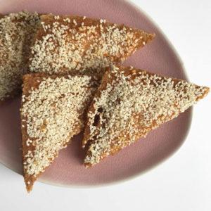Crispy sesam toast