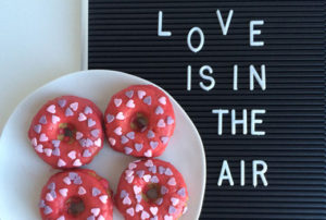 Valentijnsdag: vegan donuts