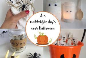 Halloween: 4 makkelijke DIY's