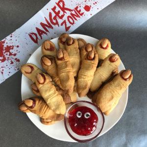 Halloween: vegan heksenvingers