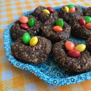 Havermout chocolade nestjes