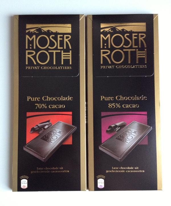 Aldi Moser Roth pure chocolade
