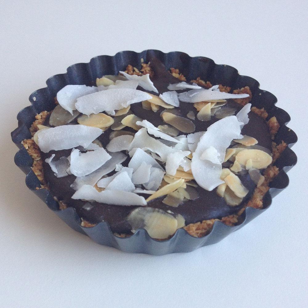 Kokos amandel taartjes