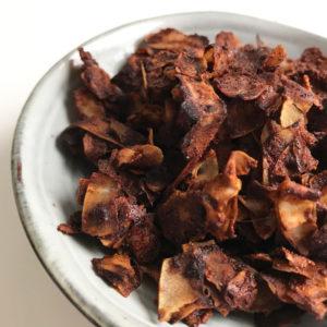 Kokos bacon + andere plantaardige bacon varianten