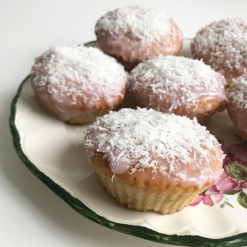 vegan, cupcakes, kokos, bakken