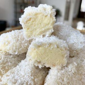 Kokos slagdroomtruffels