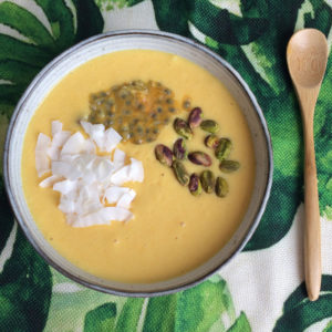 Kurkuma smoothie bowl