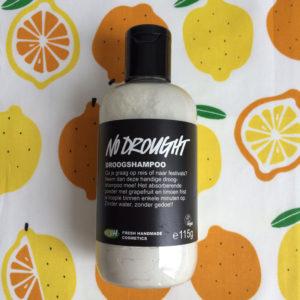 Minder vaak wassen - review Lush No Drought