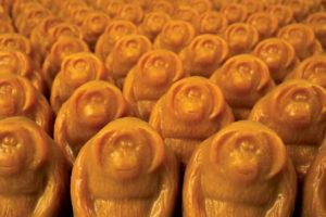 Lush Orangutan zeep: weg is weg