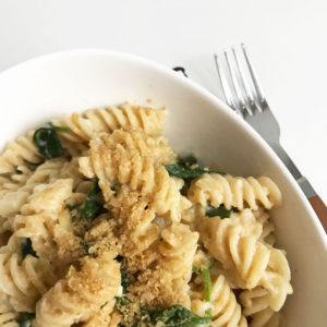 Mac and 'cheese' pasta