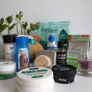 Mijn vegan lichaam- en haarverzorgingsroutine (augustus 2019)