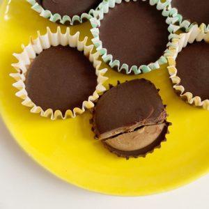 Mini chocolade cups met speculoos