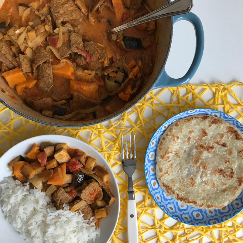 how to make beef vindaloo curry