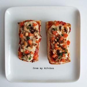 Nostalgie: pizzabroodjes met champignons