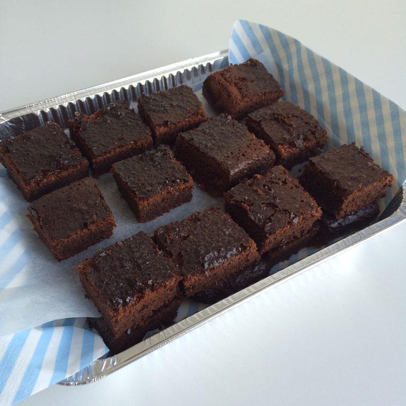 Nutella brownies met maar 2 ingrediënten