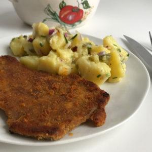 Oostenrijkse aardappelsalade (kartoffel salat)