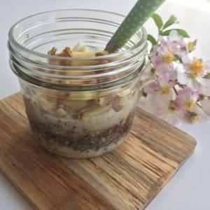 Overnight appeltaart oats