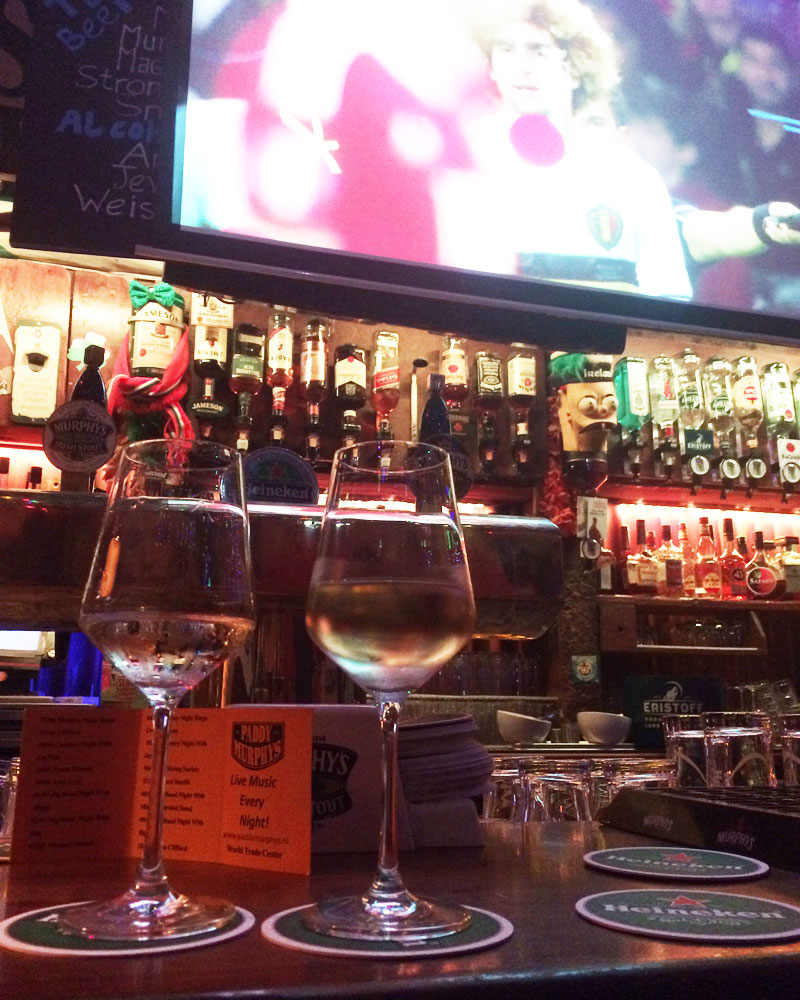 Paddy Murphy's witte wijn