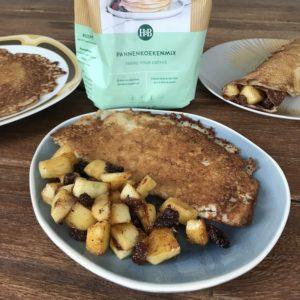 Glutenvrije en vegan pannenkoeken en wafels