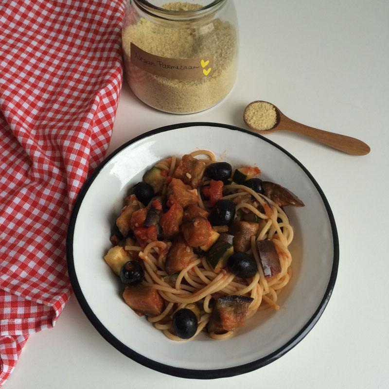 Ratatouille spaghetti