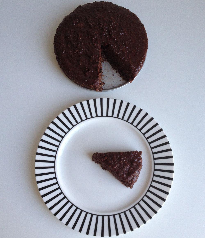 Raw chocolade cheesecake