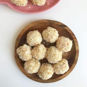 Rijstballetjes met kokos