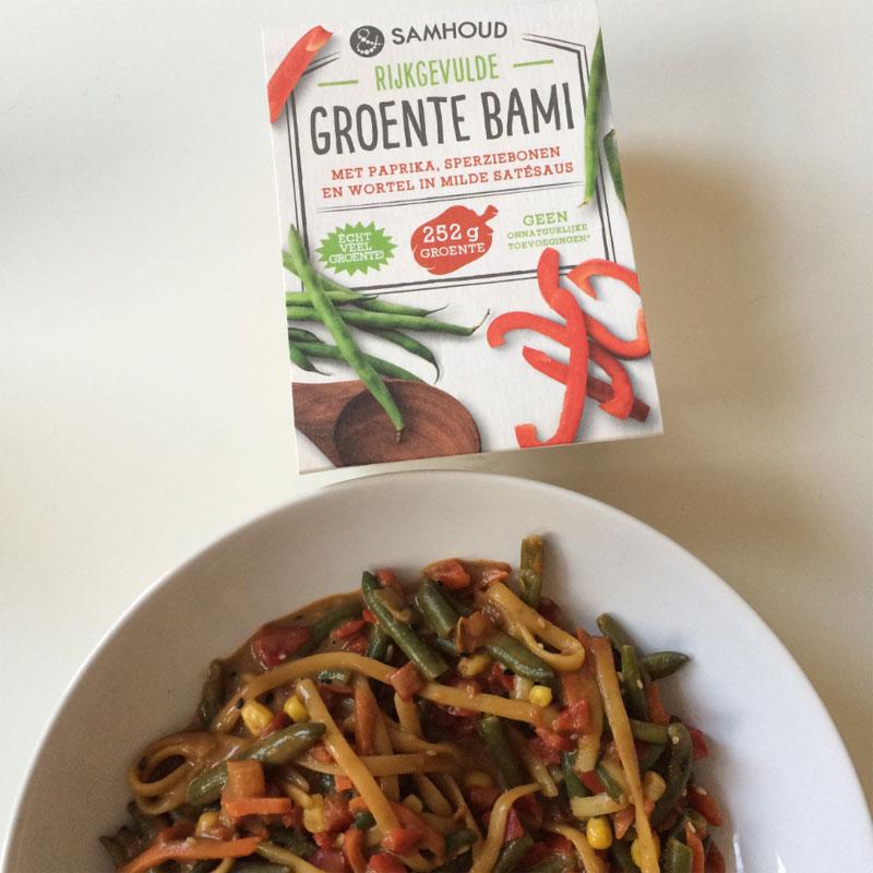 Samhoud rijkgevulde groente bami