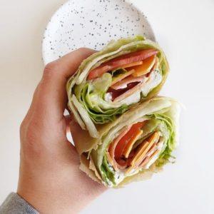 TikTok ontdekkingen #2: sla sandwich wrap (unwich)
