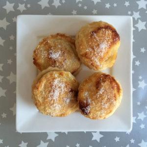 Snelle mini appelbeignets uit de oven