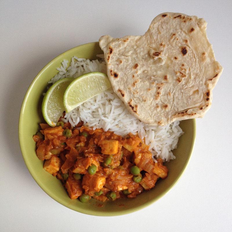 Spelt chapati brood