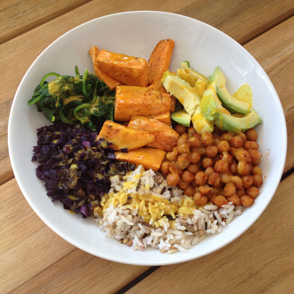 Spicy buddha bowl