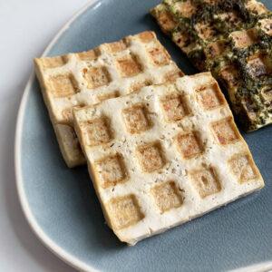 TikTok ontdekkingen #12: tofu bereiden in een wafelijzer