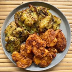 TikTok ontdekkingen #13: krokante geplette gemarineerde aardappelen