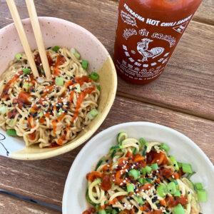 TikTok ontdekkingen #17: pittige pinda noodles