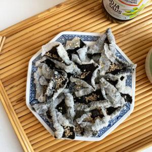 TikTok ontdekkingen #21: zeewier chips