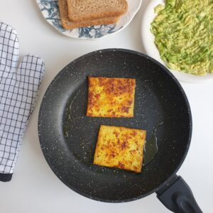 Tofu omelet recept + video