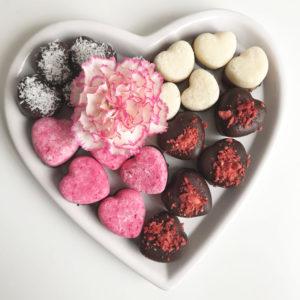 Valentijnsdag: kokosbonbons